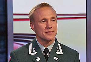 Oberstløytnant Tormod Heier ved Forsvarets stabsskole.
