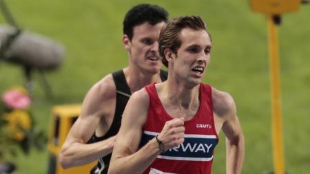 OVERRASKET: Sindre Buraas overrasket og kom til finale på 5000 meter.  (Foto: Åserud, Lise)