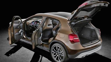 Dette kan bli Mercedes nye storselger - den splitter nye kompakt-SUVen er nemlig basert på suksessformelen som ble brukt på bestselgeren A-klasse.
