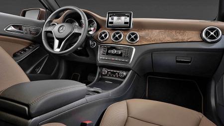 Mercedes GLA interiør