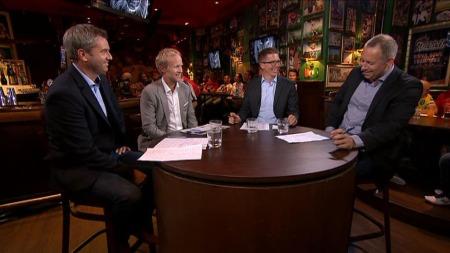SPÅR PREMIER LEAGUE: Denne gjengen tar for seg Premier League-sesongen 2013/14, og kommer med sine forhåndstips. (Foto: TV 2)