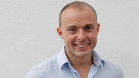 Bjørn Wettre Holthe deltok i «Skal vi danse» i 2006, og gjør nå comeback. (Foto: Unn Grethe Berge)