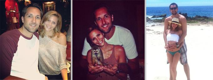 DEN SISTE SOMMEREN: Gia Allemand publiserte en rekke bilder av seg selv og kjæresten fra sommeren på Instagram. (Foto: Instagram)