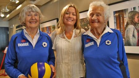 KINOKLAR: Solveig Sætersdal (87) og Lillemor Bertilsen (90) spiller to av hovedrollene i Gunhild Westhagen Magnors dokumentar