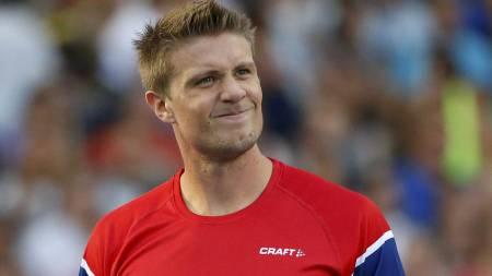 LYKTES IKKE: Andreas Thorkildsen var et av Norges sterkeste kort i Moskva, men ble nummer sju i finalen.  (Foto: Matt Dunham/Ap)
