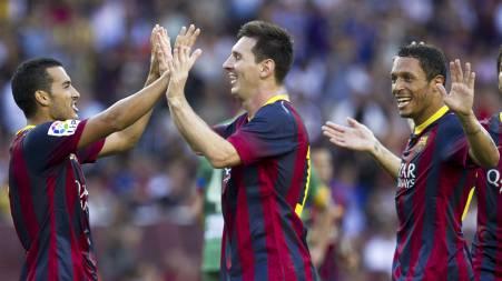 Lionel Messi (Foto: QUIQUE GARCIA/Afp)
