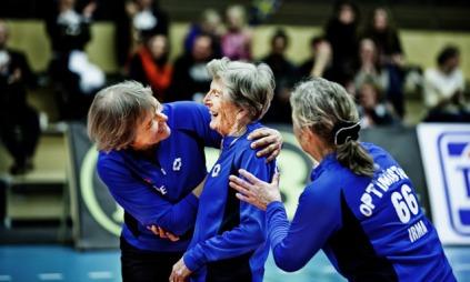 Et volleyball-team du aldri har sett maken til.