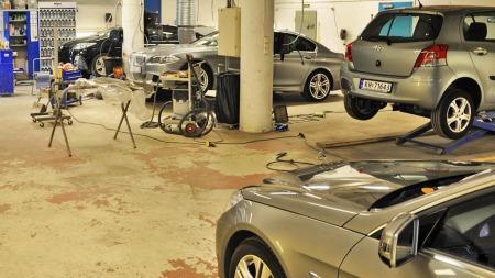 Det er mye å gjøre for Bilkosmetikk, som har fire avdelinger på Østlandet.
