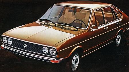 VW Passat B1 . Det var denne som dro i gang det hele i 1973.