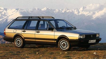 Andre generasjon av VW Passat ble en verdensbil og er den mest produserte utgaven.