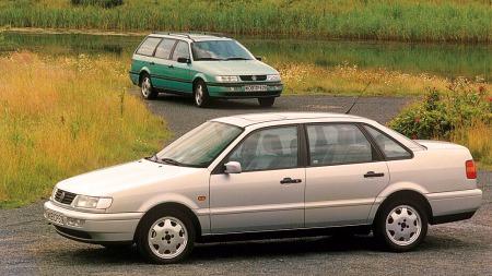 I 1993 kom den tradisjonelle grillen i fronten tilbake på fjerde generasjon av VW Passat