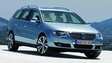 Med sjette generasjon bød VW Passat på et stilskifte.