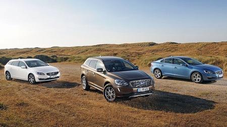 Volvo har en omfattende oppgradering på modellprogrammet for 2014 modellene sine.