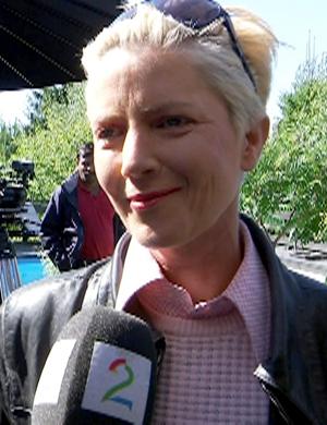 SKAPER KONTROVERSIELL FILM: Regissør Tonje Gjevjon. (Foto: TV 2)