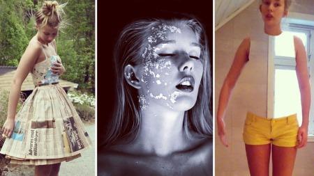 Marit ønsker å jobbe med kunst og bilder i fremtiden, noe bildene fra hennes Instagram tyder på.