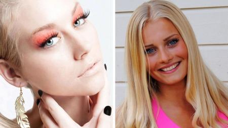 Susanne Dybvik (23) fra Hamar og Stine Amalie Andersen (16) fra Bergen.