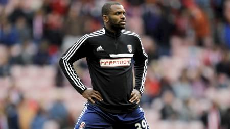 ARSENALS MARERITTMOTSTANDER: Fulhams nye spiss Darren Bent har scoret seks mål på sine åtte siste Premier League-kamper mot Gunners. Han har kun scoret flere totalt mot Manchester City (sju) og Bolton (elleve). (Foto: Richard Sellers/Pa Photos)