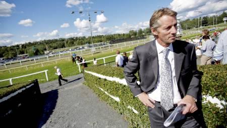 Administrerende direktør Hans Petter Eriksen  under Norsk Derby på Øvrevoll galoppbane. Dette bildet er fra 2008. (Foto: Solum, Stian Lysberg/NTB scanpix)