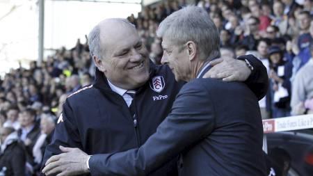JOL JAKTER NY SEIER: Fulham har aldri vunnet sine to første kamper i en Premier League-sesong. Sist de stod med seks poeng etter to kamper var i 2000/01, men da var de på nest øverste nivå. (Foto: IAN KINGTON/Afp)