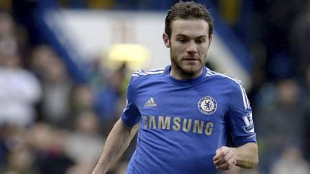 EN ØNSKET MANN: Juan Mata har ingen høy stjerne hos Jose Mourinho.   Men en rekke klubber vil ha ham dersom Chelsea lar ham gå. (Foto: Jonathan   Brady/Pa Photos)
