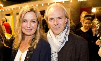 Regissør Harald Zwart og kona Veslemøy Ruud Zwart gleder seg   til hva venner og bekjente vil si om filmen «Skyggejegerne: Demonenes   by» i kveld.. (Foto: Meek, Tore)