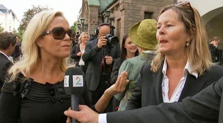 Kjersti Holmen og Guri Schanke. (Foto: TV 2)