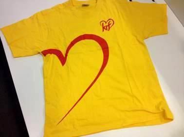 Her er KrF-t-skjorten.