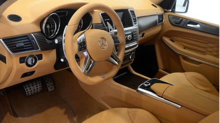 Mercedes GL Brabus interiør