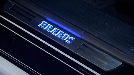 Mercedes ML Brabus innstegslist