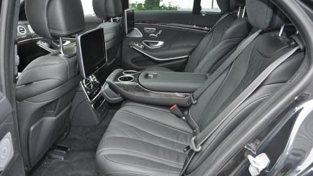Mercedes S-klasse baksetene