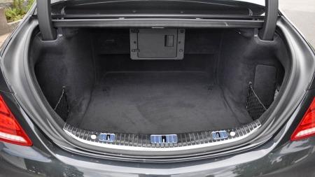 Mercedes S-klasse bagasjerom