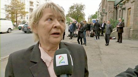 Kirsti Sparboe. (Foto: TV 2)