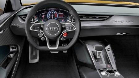 00 Audi konsept interiør