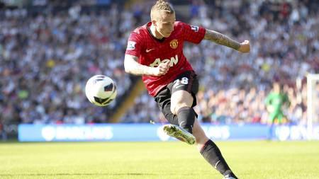 VIL VEKK: Alexander Büttner vil forlate Manchester United. (Foto: Mike Egerton/Pa Photos)