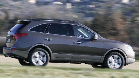 ix55 er en stor SUV med plass til inntil sju - og med kraftig dieselmotor under panseret.