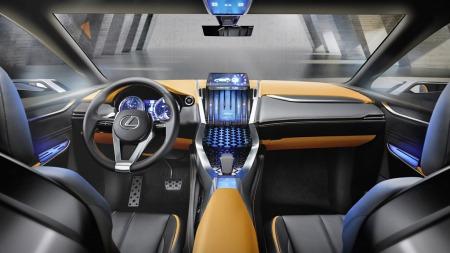 Lexus kompakt SUV interiør