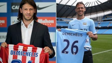 ANDRE KLUBB PÅ KORT TID: Martin Demichelis har signert for to klubber denne sommeren. Nå ser det i alle fall ut til at han blir i Manchester City litt lenger enn noen uker.