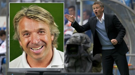 TROR PÅ SOLSKJÆR: Mini tror Ole Gunnar Solskjær blir landslagssjef dersom Molde-manageren ønsker det. (Foto: Scanpix/Photoshop (montasje))