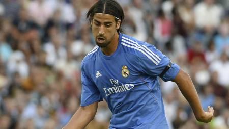 ØNSKET AV UNITED: Real Madrids Sami Khedira. (Foto: JONATHAN NACKSTRAND/Afp)