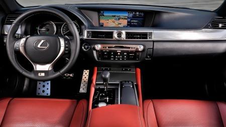 Lexus GS interiør