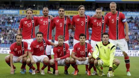 VÅRE BESTE MENN: Disse elleve startet for Norge mot Kypros. (Foto: Larsen, Håkon Mosvold/NTB scanpix)