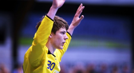 STORTALENT: Torbjørn Bergerud er bare 19 år, men har allerede   debutert for landslaget.