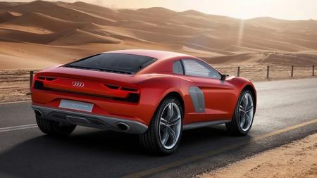 Audi konsept 2 bakfra
