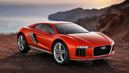 Audi konsept 2 forfra