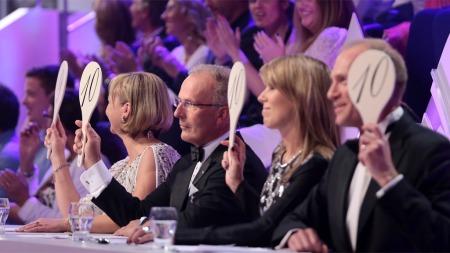 Kathrine Sørland var et poeng unna full pott i første Skal vi danse-sending (Foto: Thomas Reisæter/TV 2)