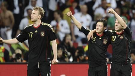 TYSK KONTINGENT: Arsenal har flere av de viktigste spillerne på det tyske landslaget i sin tropp. (Foto: JEWEL SAMAD/Afp)