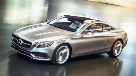 Ryktene går om at den skal være på markedet innen to år - nye S-klasse coupe fra Mercedes. Det er nok også gode muligheter for at en cabriolet-versjon også er på vei.
