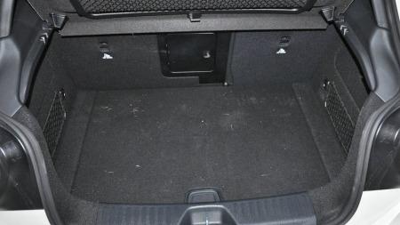 Mercedes A 45 AMG bagasjerom