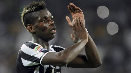 POPULÆR: Juventus vil doble lønnen til Paul Pogba for å forhindre   at midtbanespilleren forsvinner. (Foto: GIORGIO PEROTTINO/Reuters)