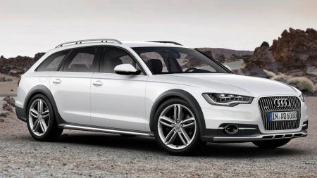 Audi A6/Allroad får fem av fem mulig poeng - og er blant de bilene som er best beskyttet mot rust.